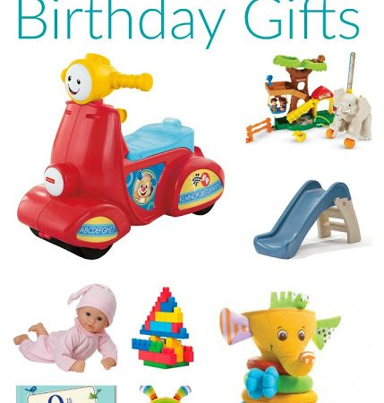 Friday Favorites: Top 10 First Birthday Gifts