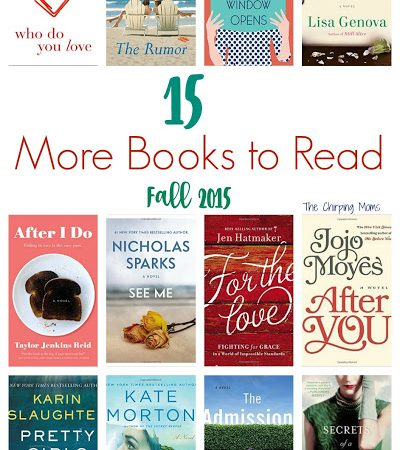 15 More Books to Read in 2015