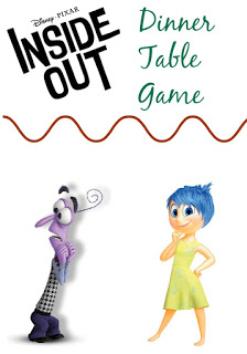 Inside Out Day:  Family Dinner Conversation Game || The Chirping Moms