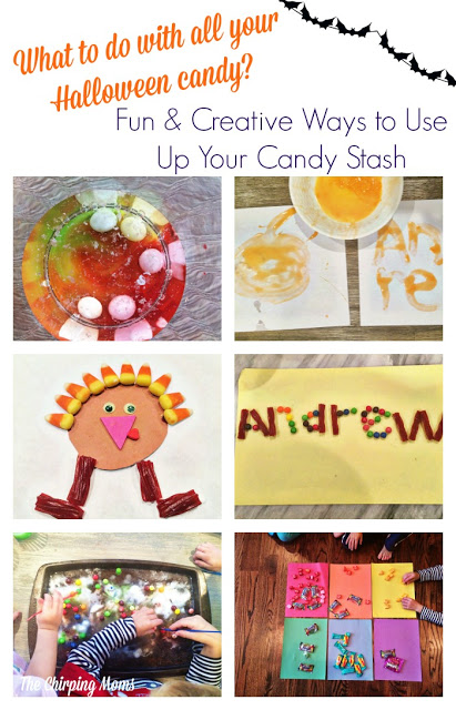 What to Do With All That Halloween Candy? || The Chirping Moms