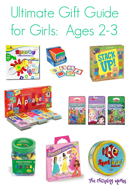 Ultimate Gift Guide for Girls, Ages 2-3 || The Chirping Moms
