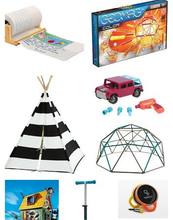 Ultimate Gift Guide for Boys:  Ages 4-8