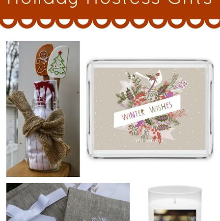 5 Ways to Thank Those That Host This Holiday Season {Hostess Gift Guide}