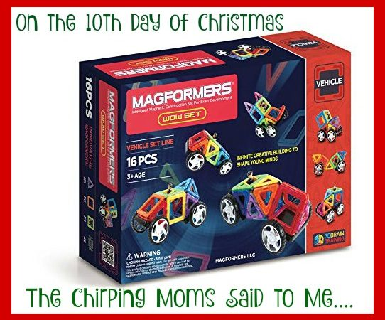 The 12 Days of Toys: Day 10, Enter to Win Magnaformers!