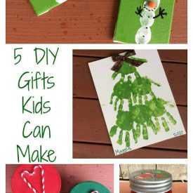 5 Great DIY Gifts Kids Can Make