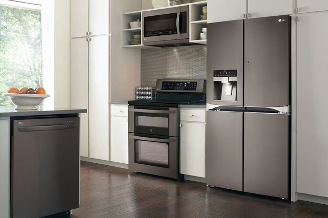 LG's New Black Stainless Steel & An Exciting Pinterest Contest