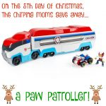 The 12 Days of Toys:  Day 5, Paw Patroller (Giveaway)