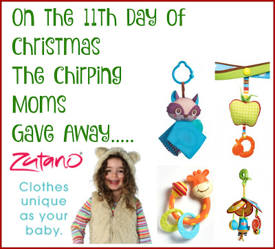 The 12 Days of Toys: Day 11, Baby's First Christmas {Zutano & Tiny Love}