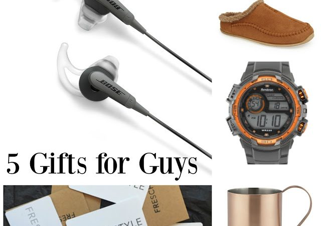 Holiday Gift Guide: 5 More Great Gifts for Guys