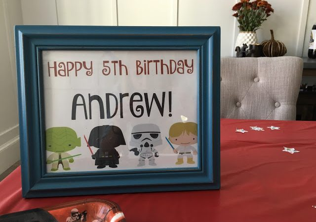 Star Wars Birthday Party Ideas for Your Little Jedi