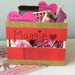 DIY Valentine's Baskets for Kids with a Message of Love