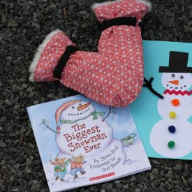 Build A Snowman: Craft + Book + Snack