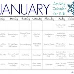 31 January Activities & Crafts for Kids (Free Activity Calendar)