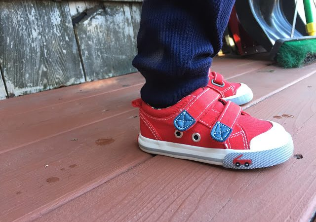 Super Cool Sneakers from See Kai Run {& Giveaway}