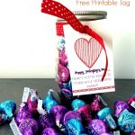 The Valentine Kiss Jar Gift Idea (Free Printable)