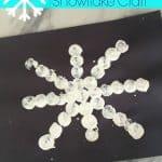 Wine Cork Snowflake Craft: Craft + Book + Snack