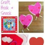 Valentine's Day Fun for Kids: Craft + Book + Snack