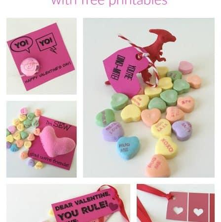 5 Non Candy DIY Valentine's