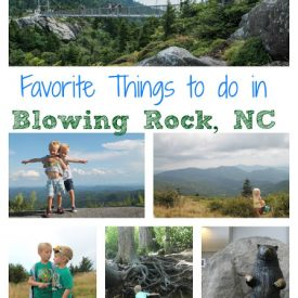 Family Travel:  Blowing Rock, NC