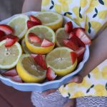 Frozen Strawberry Lemonade and a Fun Lemon Craft