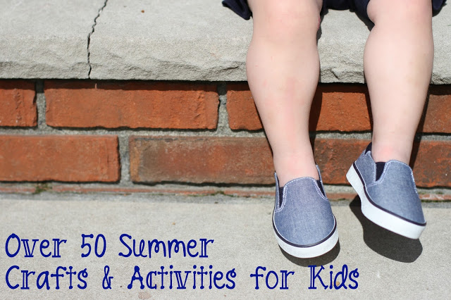 Summer Fun for Kids: Over 50 Ideas for Summer Crafts and Activities