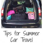 Where to Wednesday: Tips for Summer Car Travel