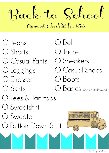 Back to School Shopping for Kids || The Chirping Moms