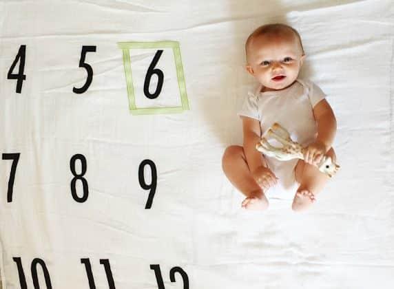 Miles' Milestones: 6 Months