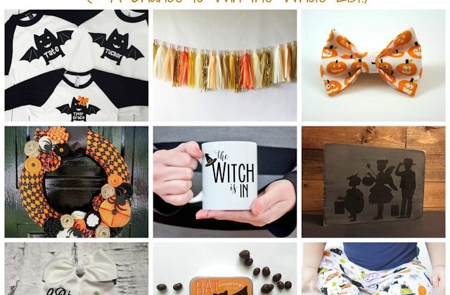 Favorite Halloween Finds from Etsy (& Giveaway)