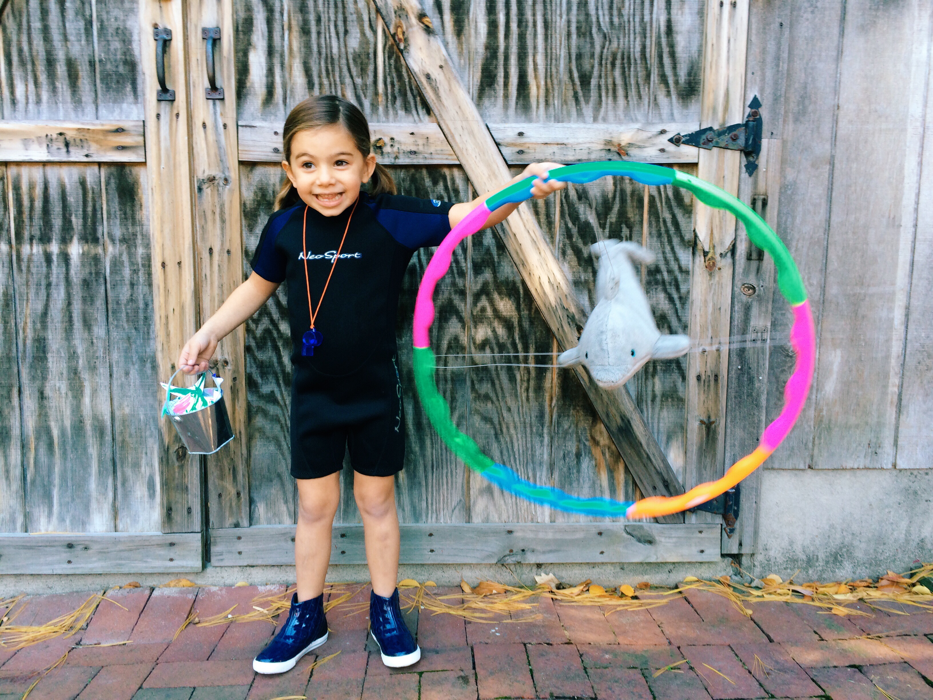 Diy Halloween Costume Dolphin Trainer The Chirping Moms