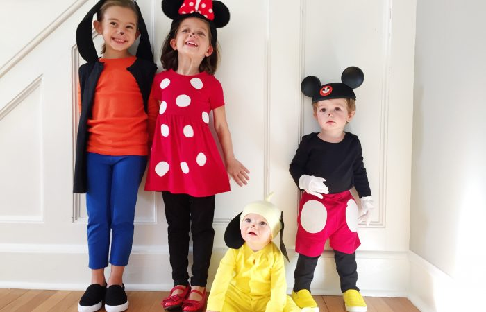 Easy DIY Mickey & Pals Costumes