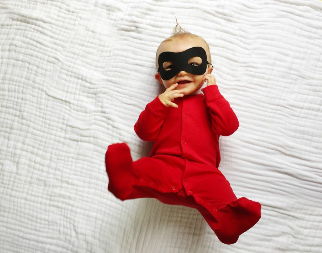 jack-jack-incredible-costume & 5 Easy DIY Halloween Costumes for Baby - The Chirping Moms