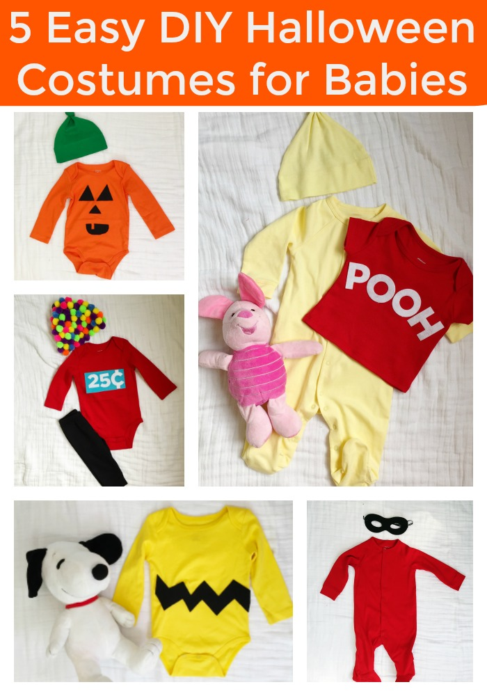 baby-costume-pin  sc 1 st  The Chirping Moms & 5 Easy DIY Halloween Costumes for Baby - The Chirping Moms