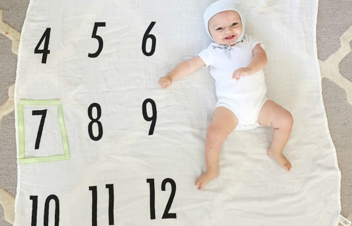 Miles' Milestones: 7 Months