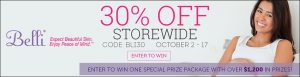 Belli Skincare Fall Event: Save 30% Storewide