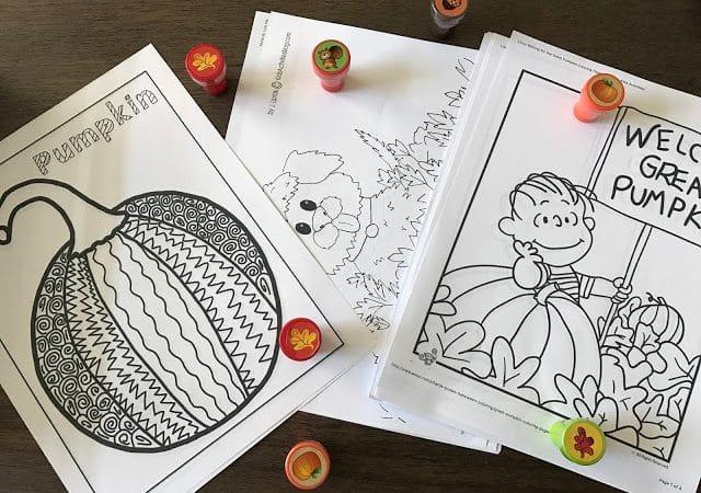 Simple Ideas for a Festive Fall Class Party