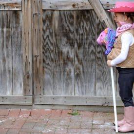 Easy DIY Sheriff Callie Costume