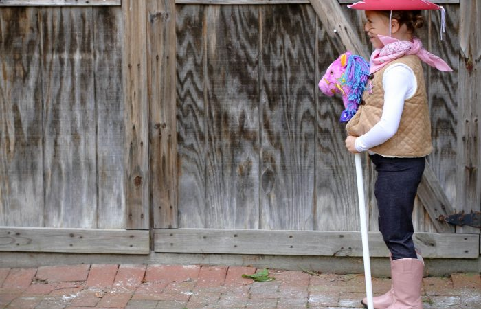 Easy DIY Sheriff Callie Costume