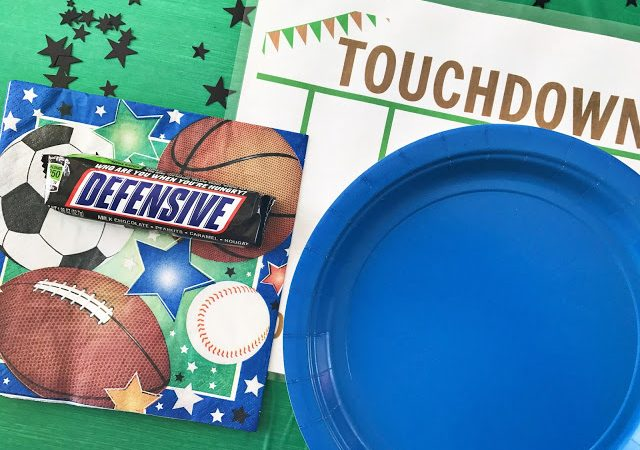 Football Themed Printable Placemats