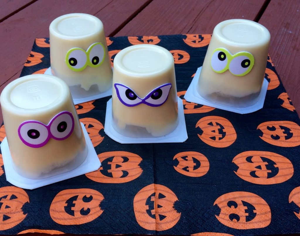 Ghost Pudding