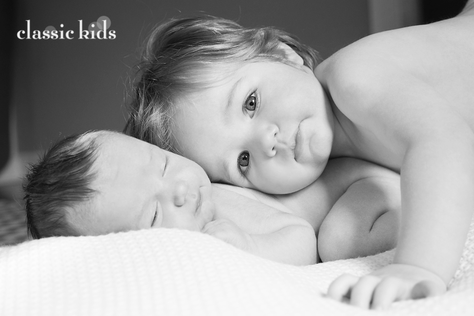 Classic Kids Newborn Photography