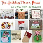 Top Holiday Decor & Gifts for 2016 (& 2 Giveaways!)