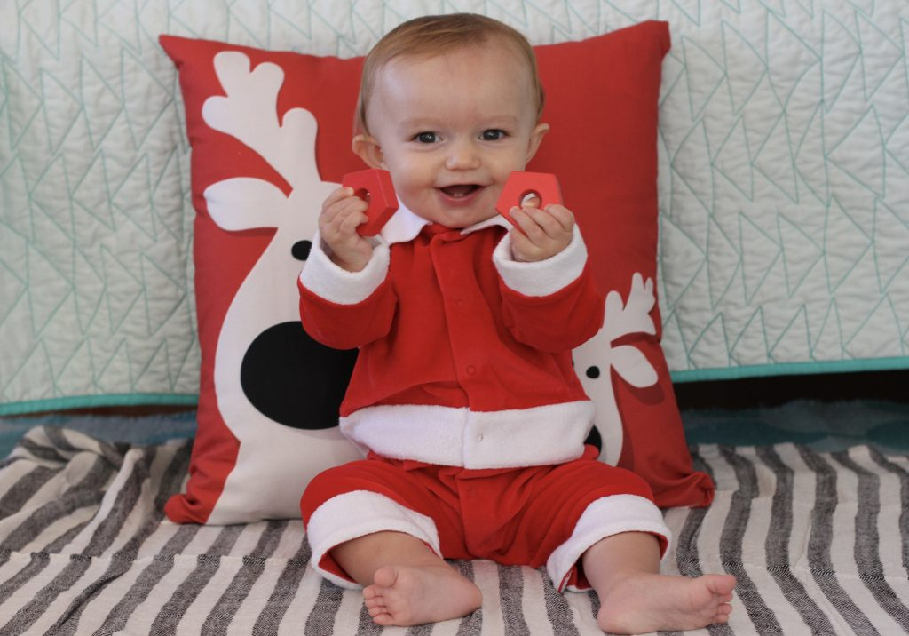 Kissy Kissy Baby's First Christmas