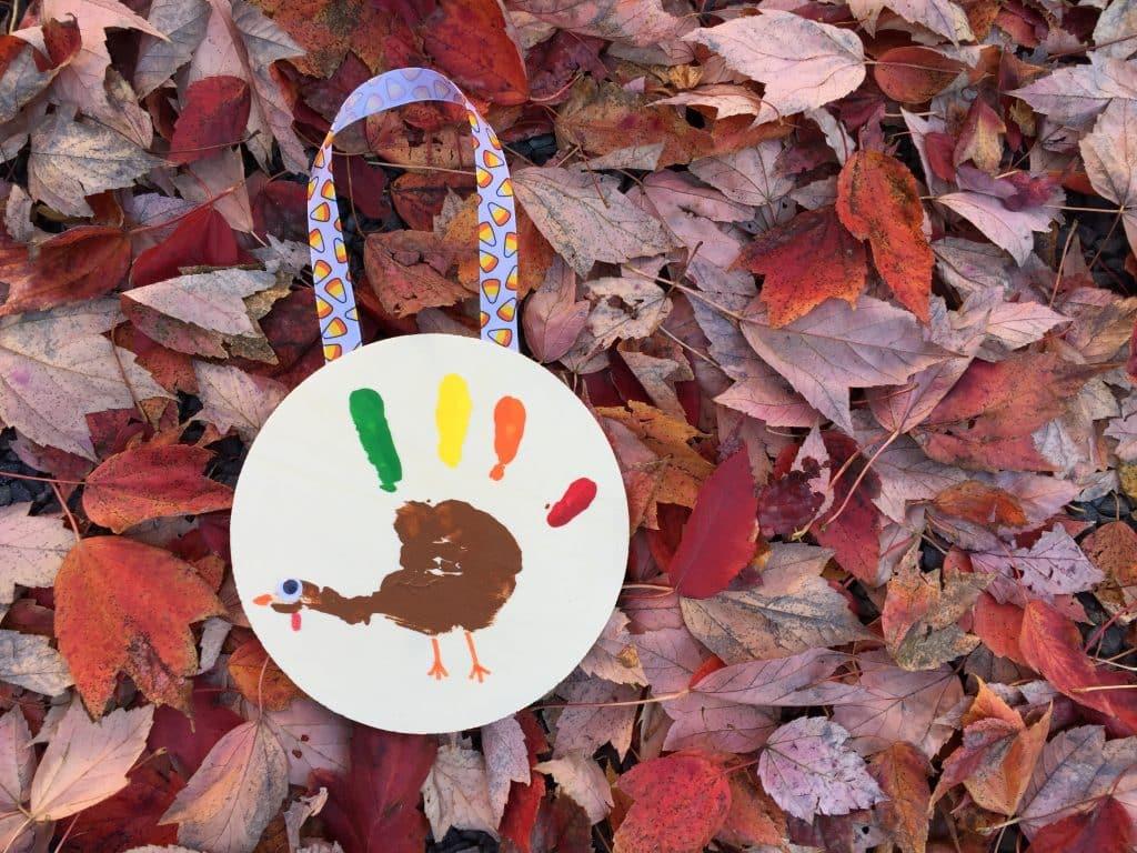 Hanging Turkey Handprint