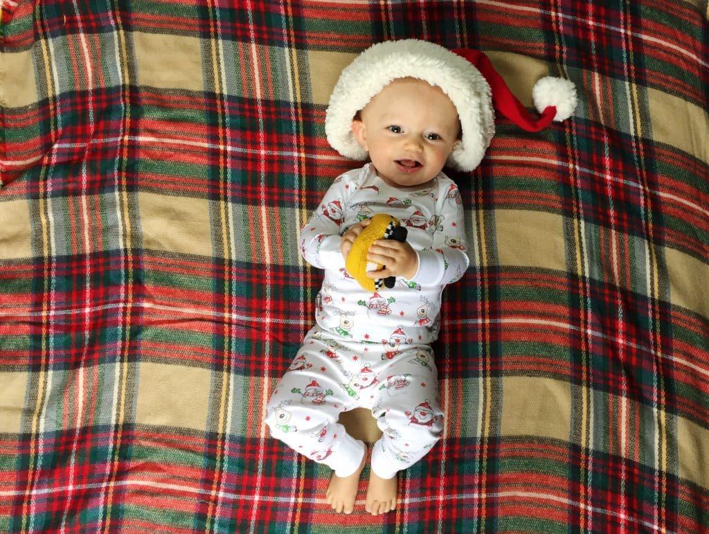 Kissy Kissy Christmas Baby
