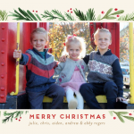 Holiday Cards with Minted & Tea Collection {& Giveaway}