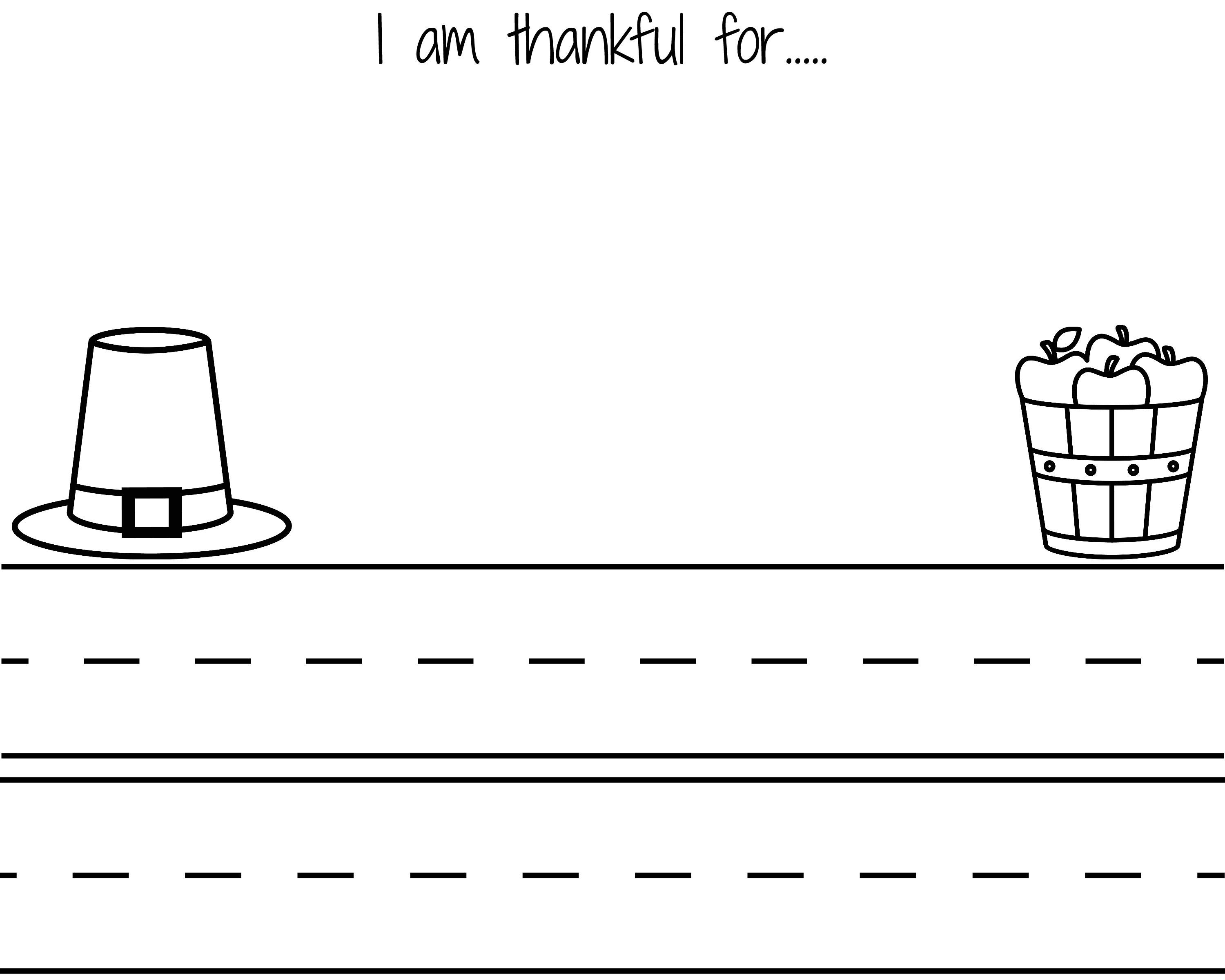 i am thankful for printables the chirping moms i am thankful letter black white