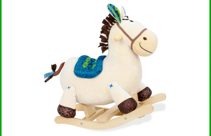 The 12 Days of Toys: Day 3, B. Toys Rocking Horse