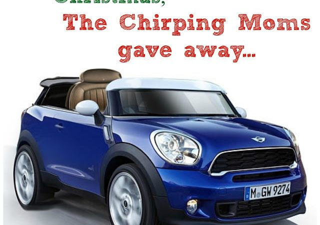 The 12 Days of Toys: Day 2, Powered Ride-On Mini Cooper Car from KidTrax