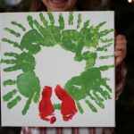 This Year's Special Christmas Handprint Craft